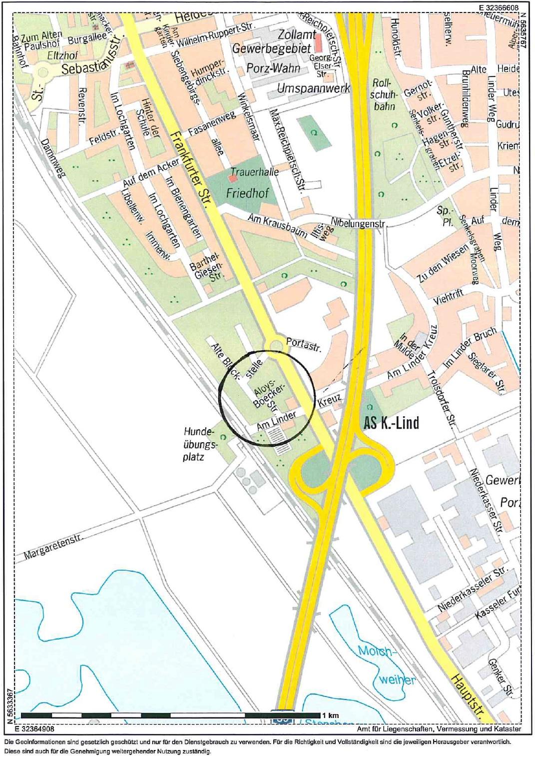 Karte Flächenamrkierung Leichtbauhalle Lind_20160605