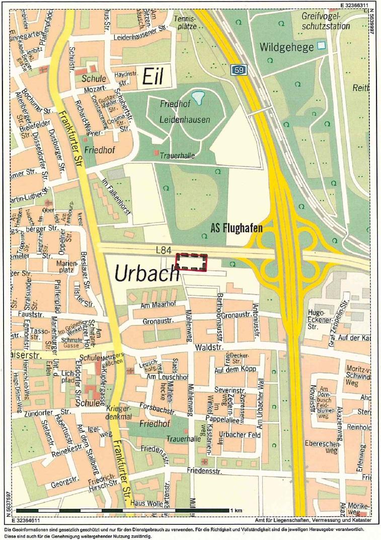 Karte Flächenamrkierung Leichtbauhalle Urbach_20160605